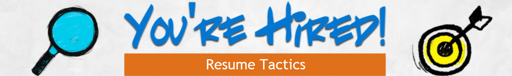 Resume Tactics E-book